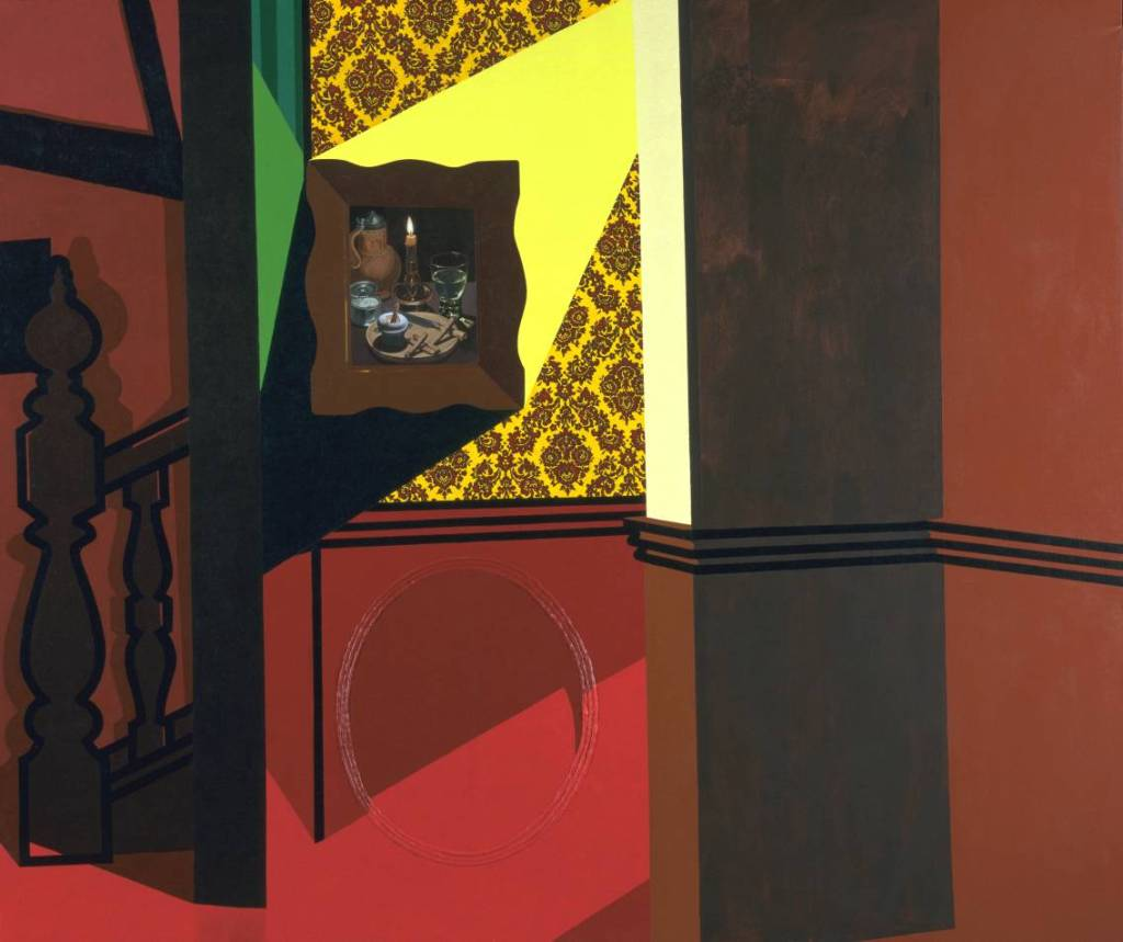 Interior with a Picture (1985) © The estate of Patrick Caulfield
