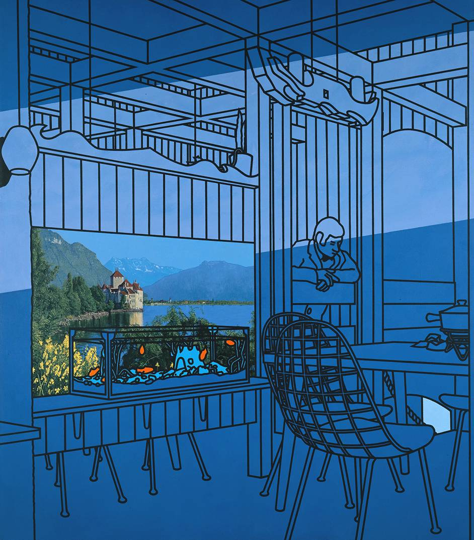 After Lunch (1975) © The estate of Patrick Caulfield