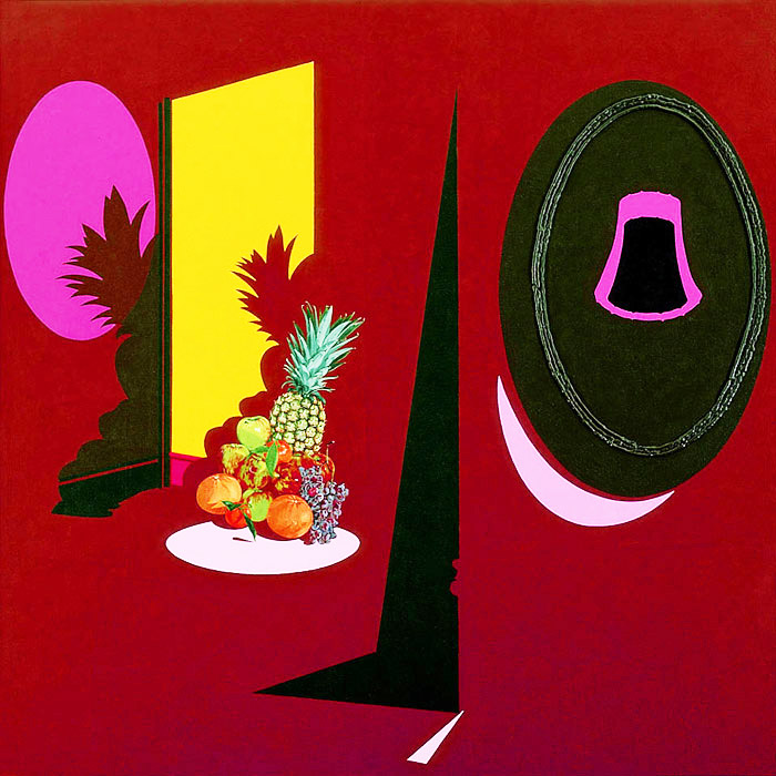 Fruit display (1996) © The estate of Patrick Caulfield