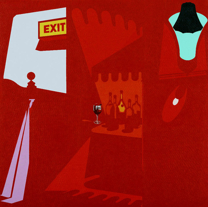 Happy Hour (1986) © The estate of Patrick Caulfield