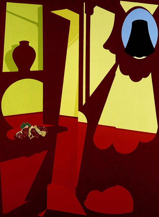 Hedone's (1996) © The estate of Patrick Caulfield