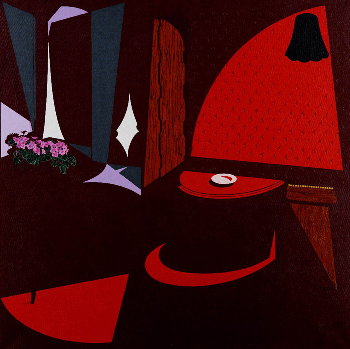 Rust never sleeps (1996) © The estate of Patrick Caulfield