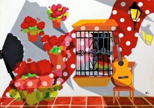 Composition 7: Andalucia (2013 © Nicholas de Lacy-Brown)