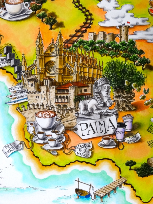 Palma detail