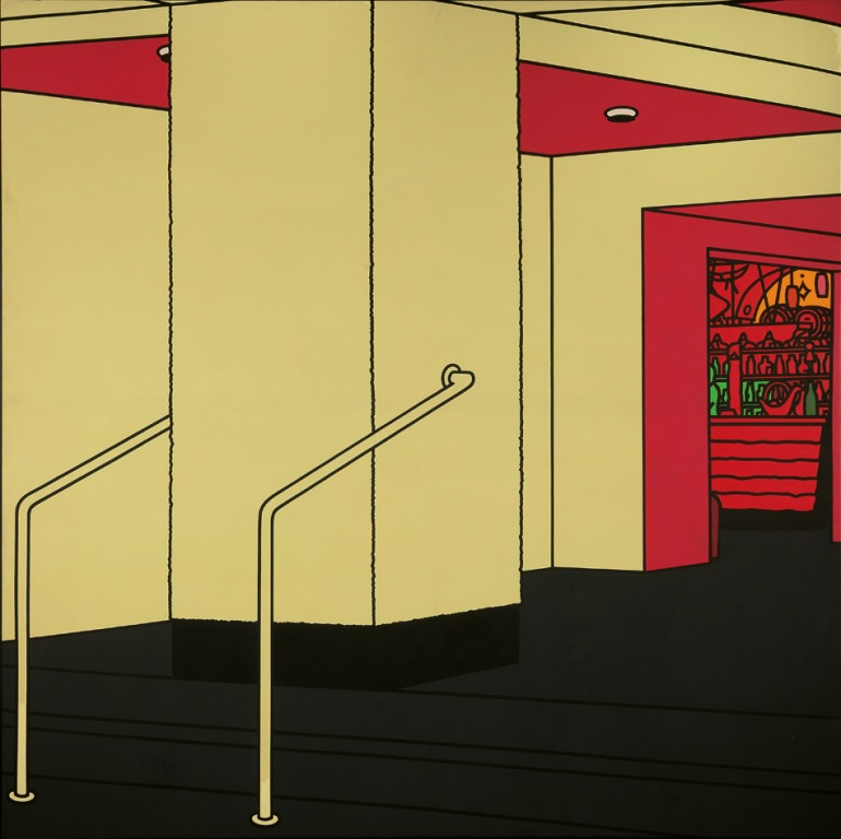 Foyer (1973) © The estate of Patrick Caulfield