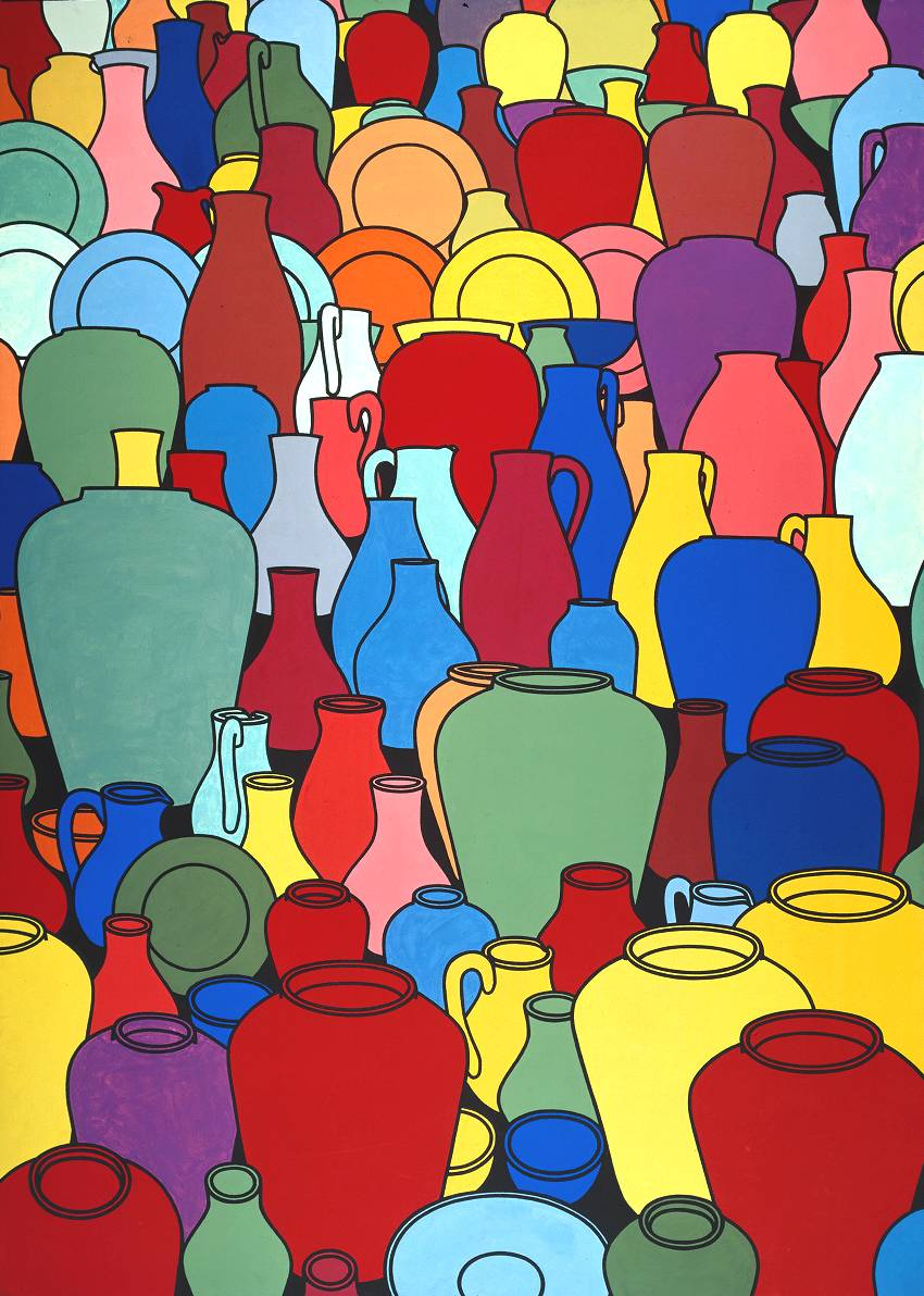 Pottery (1969) © The estate of Patrick Caulfield