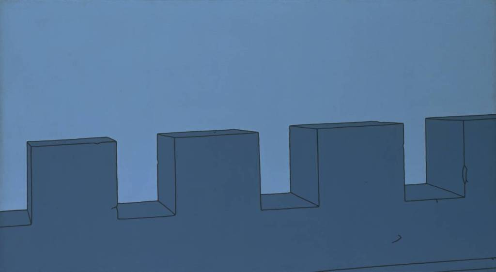 Battlements (1967) © The estate of Patrick Caulfield