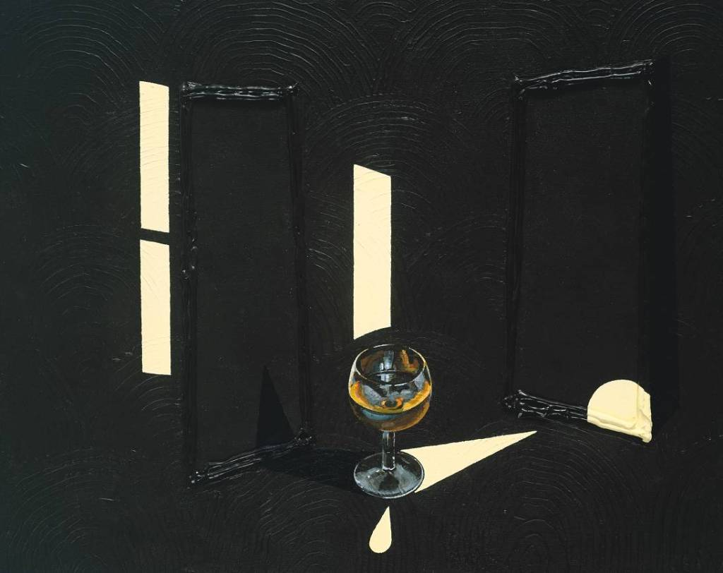Second Glass of Whisky (1992) © The estate of Patrick Caulfield
