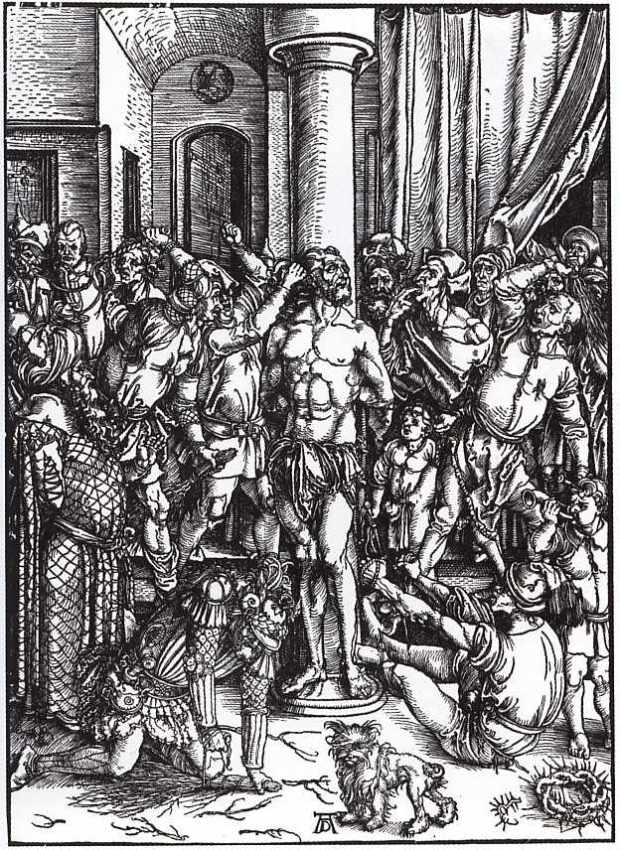 Flagellation of Christ (from the Large Passion Series) (1497-1500)