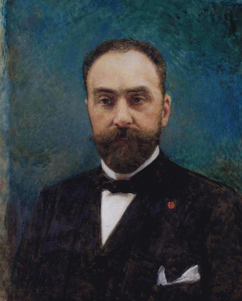 Portrait of Charles Ephrussi by Leon Bonnat