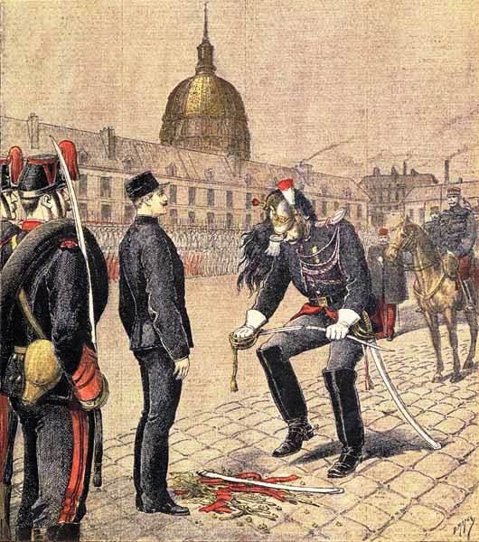 The degradation of Alfred Dreyfus
