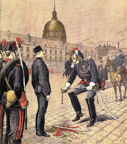 The degradation of Alfred Dreyfus