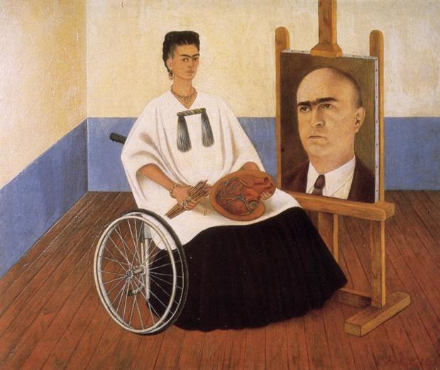 Frida-Kahlo_Self-Portrait-with-Dr-Farell
