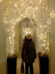 My Mummy in Somerset House Christmas arcade