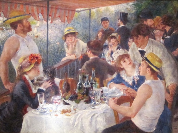 The Luncheon of the Boating Party by Renoir
