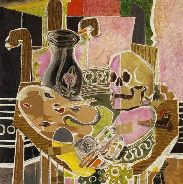 Studio with Skull (1938)