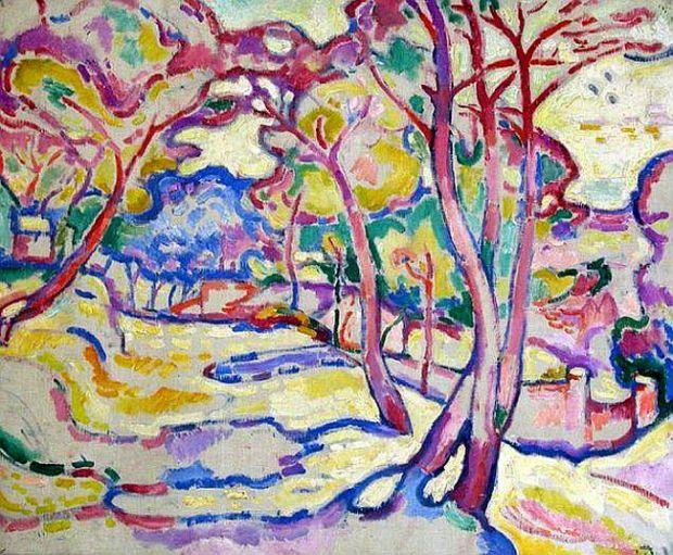 Landscape in L'Estaque (1906)