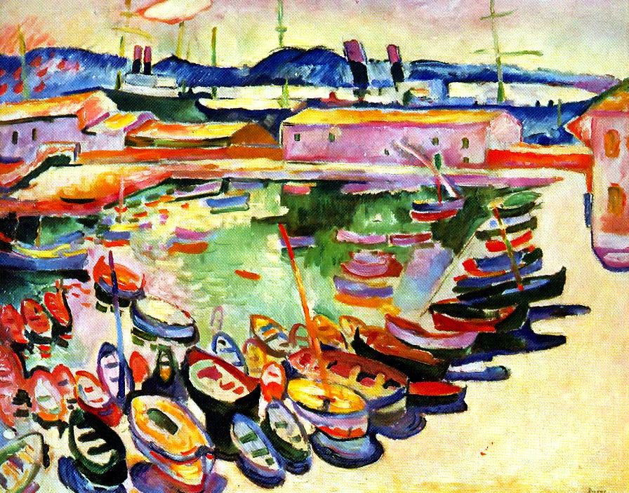 The Port at La Ciotat (1907)