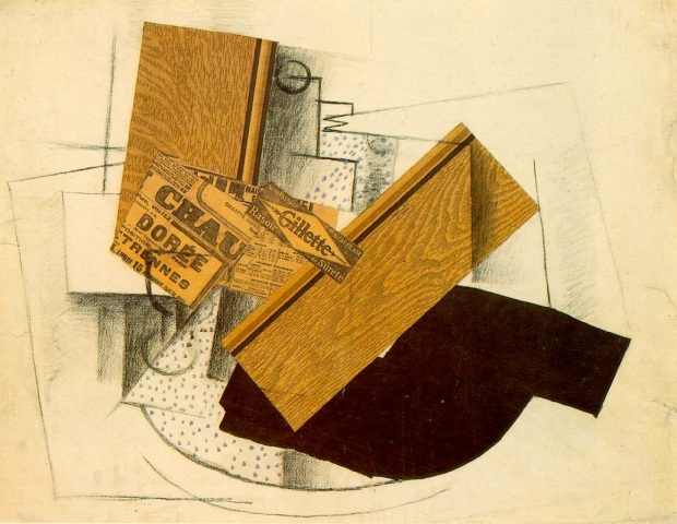 Still life on a table with Gillette (1914)