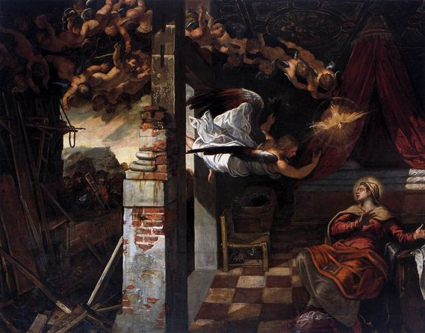 Tintoretto Cycle - The Annunciation