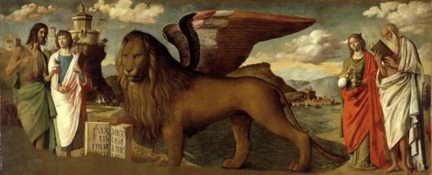Giambattista Cima de Conegliano, The Lion of St Mark