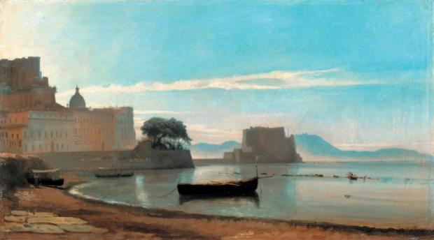 And another painting by Corot of the same view
