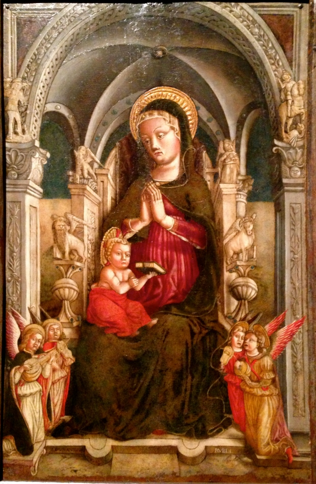 Antonio Rosso, Madonna Enthroned