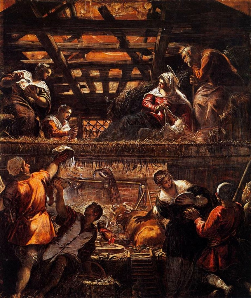 Tintoretto Cycle, The Adoration of the Shepherds