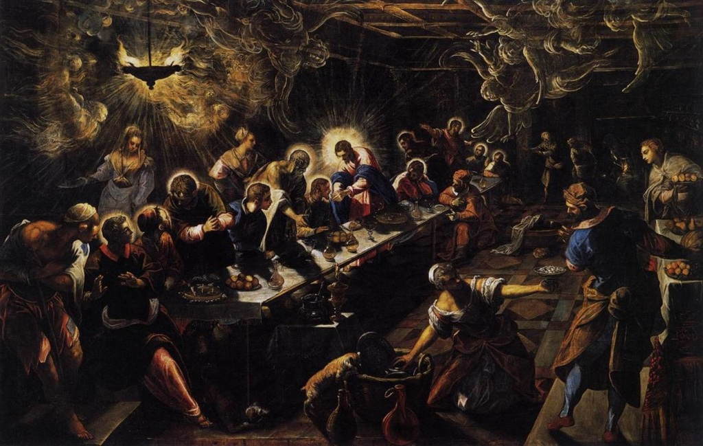 Tintoretto Cycle - The Last Supper