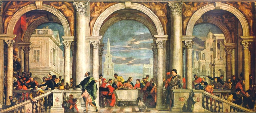 Veronese, Feast at the House of Levi