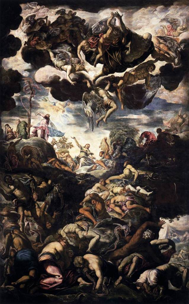 Tintoretto Cycle - Miracle of the Bronze Serpent