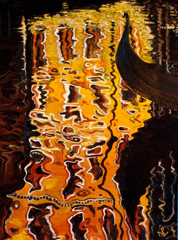 Venice II (2007 © Nicholas de Lacy-Brown, oil on canvas)