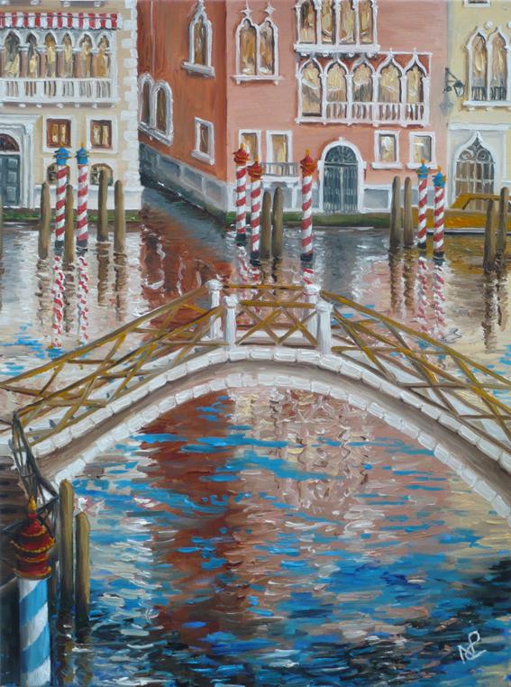 Venice III (2007 © Nicholas de Lacy-Brown, oil on canvas)