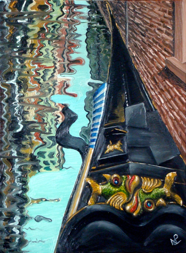 Venice IV (2007 © Nicholas de Lacy-Brown, oil on canvas)