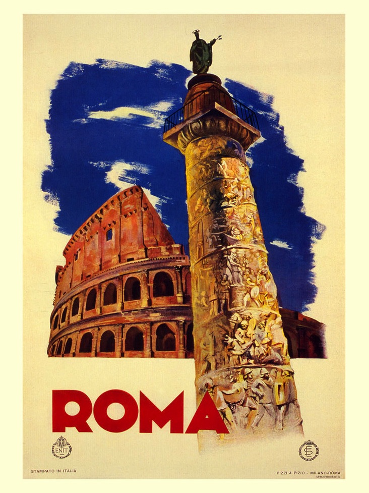 AP463-roma-rome-italian-travel-poster-1935
