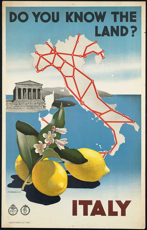 Vintage Italy Advertisements From A Golden Age The Daily Norm