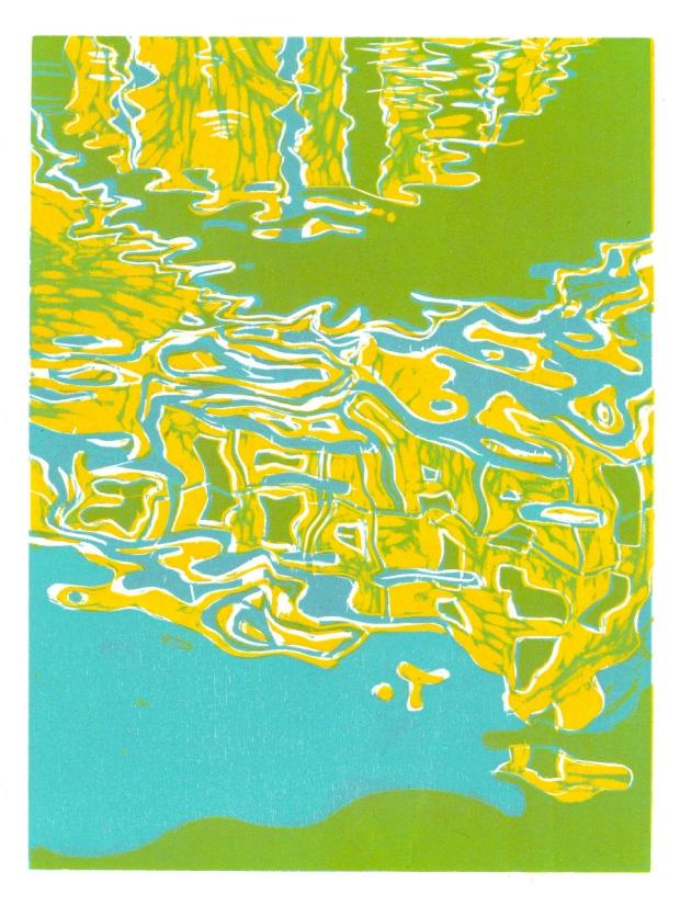 yellow ripple