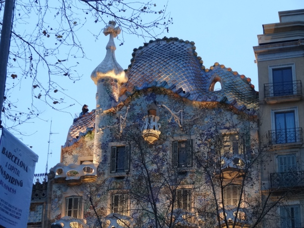 Roof of the Casa Batllo