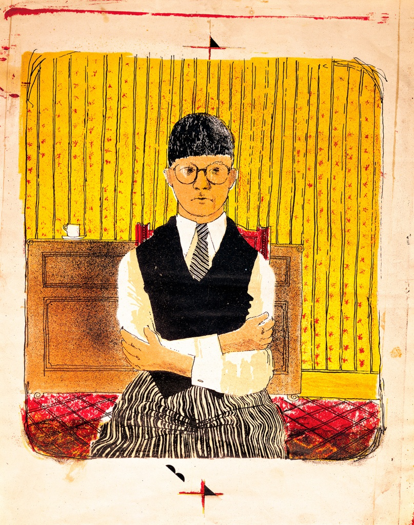 David Hockney, Self Portrait, 1954 © David Hockney