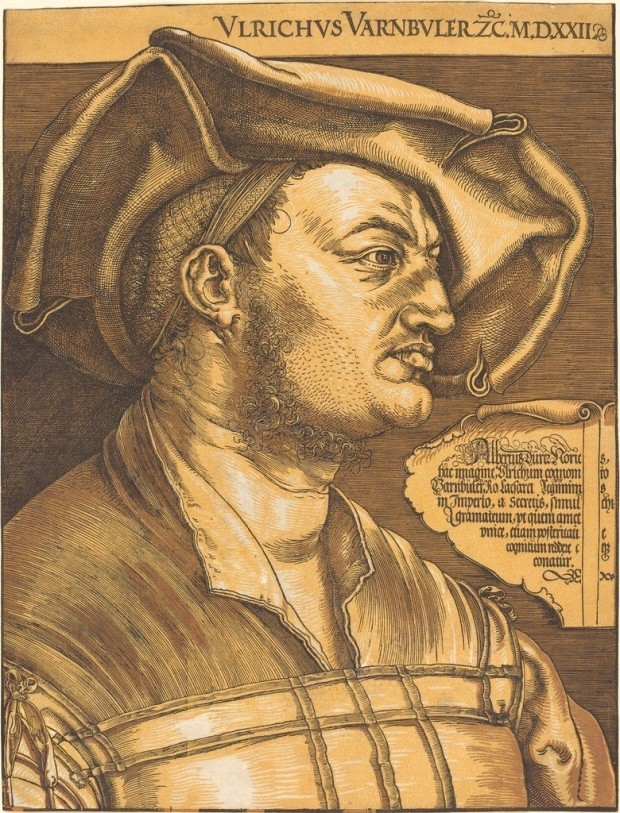 Albrecht Dürer, Ulrich Varnbühler (1522 and c.1620 - the highlights)