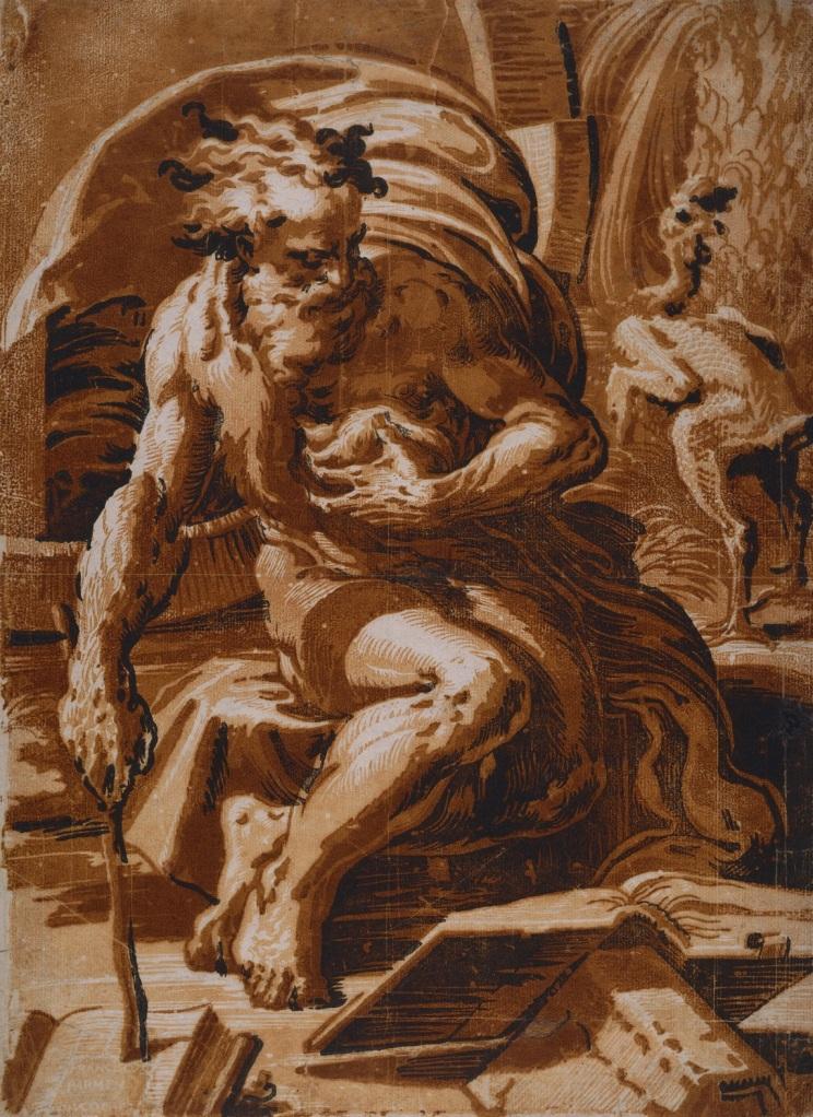 Ugo da Carpi - Diogenes (1527)