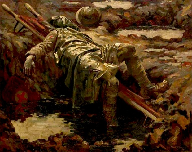 Gilbert Rogers, The Dead Stretcher Bearer (1919)