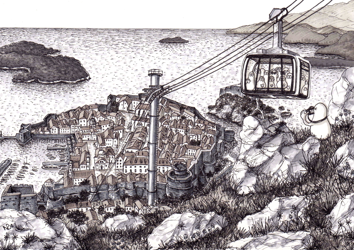 Norms in Dubrovnik | Up the Cable Car | The Daily Norm