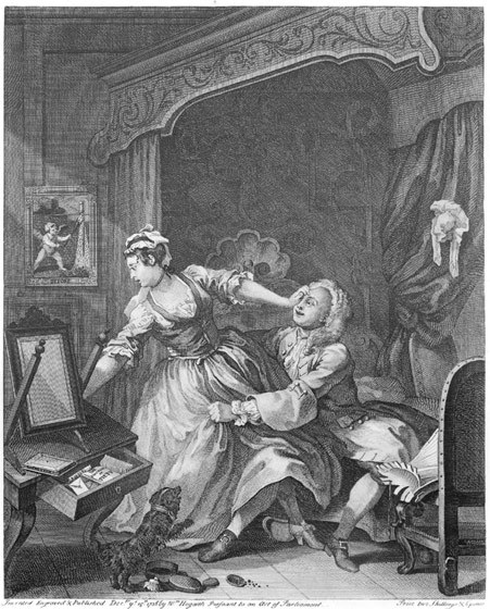 William Hogarth, Before