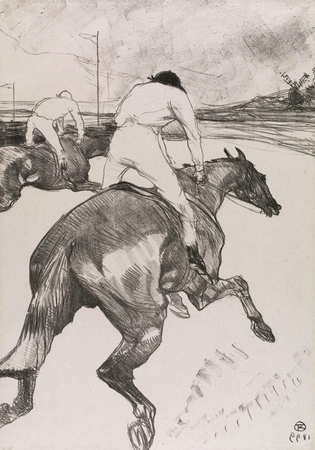 Toulouse Lautrec, The Jockey (1899)