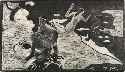 Gauguin, Auti te Pape