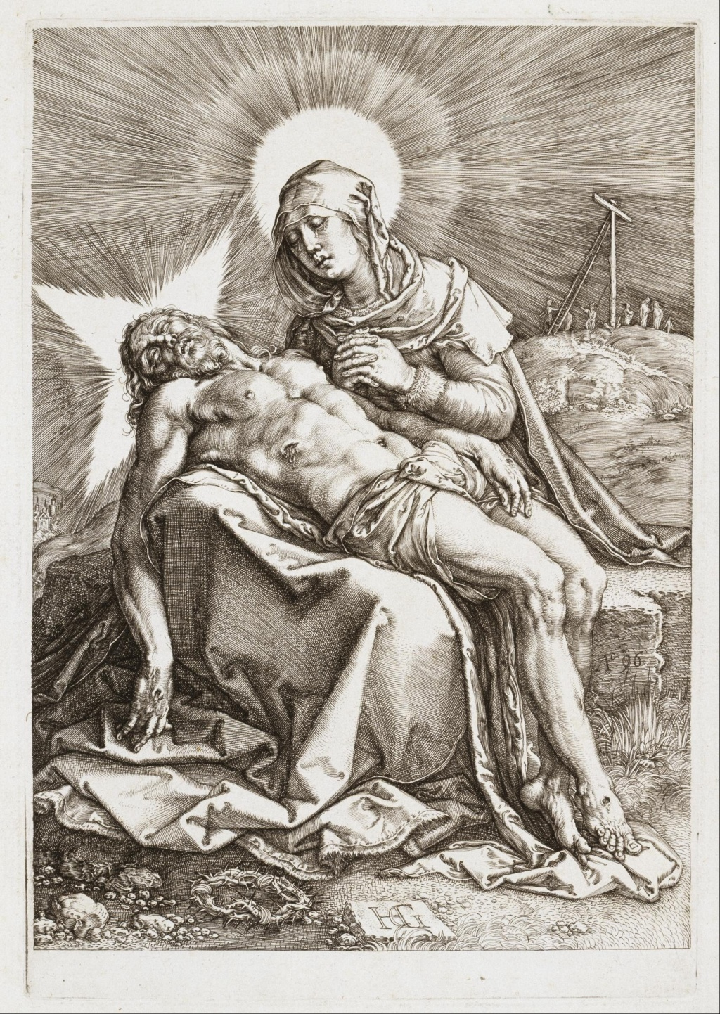 Hendrick Goltzius, The Pieta