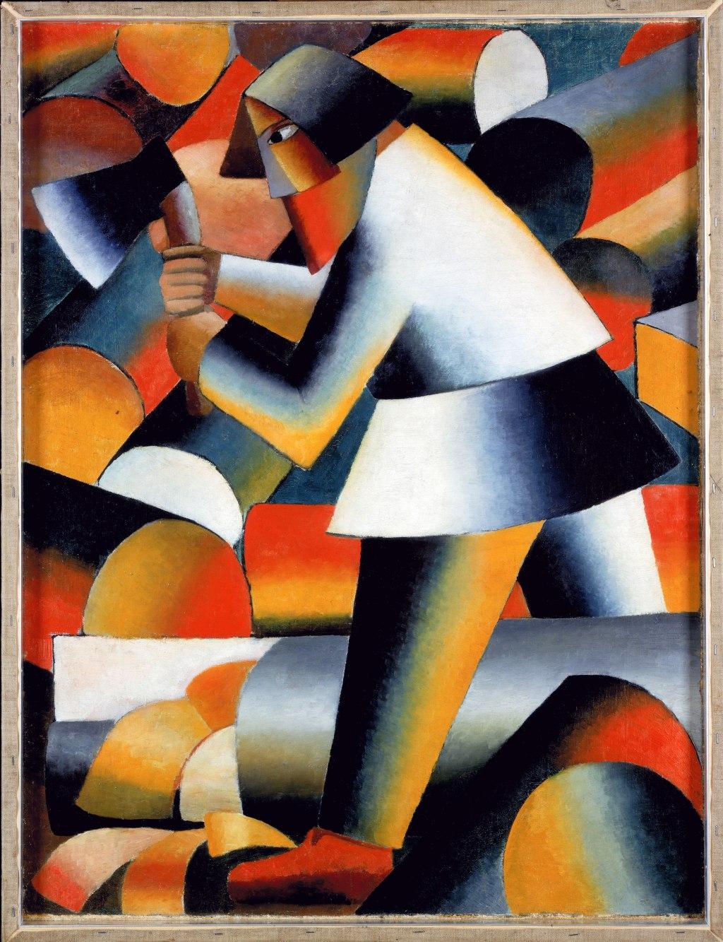 Kazimir-Malevich,-The-Woodcutter,-1912_original