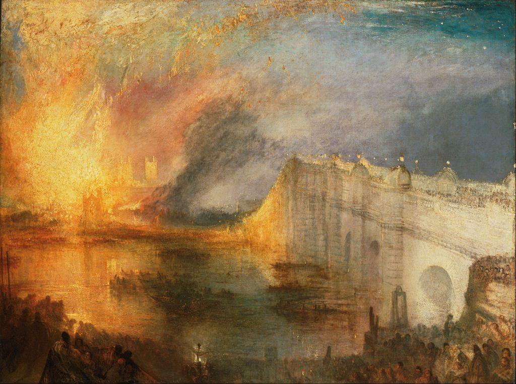 Burning of the Houses of Lords and Commons (1834)