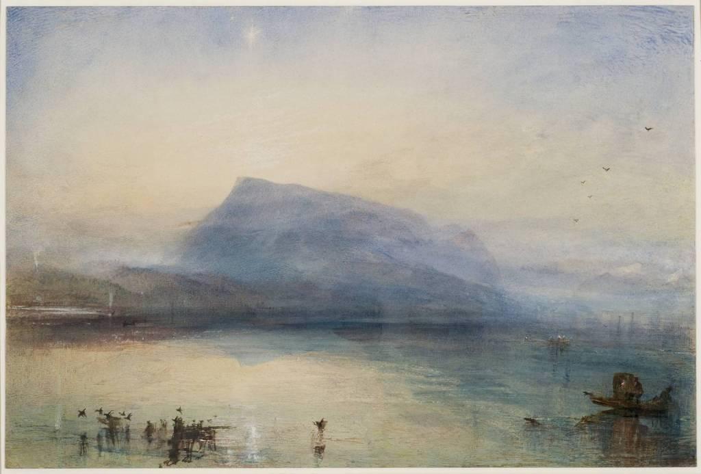 The Blue Rigi Sunrise (1842)